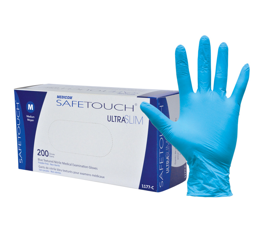 SafeTouch® Ultra Slim 無粉丁腈手套 超薄