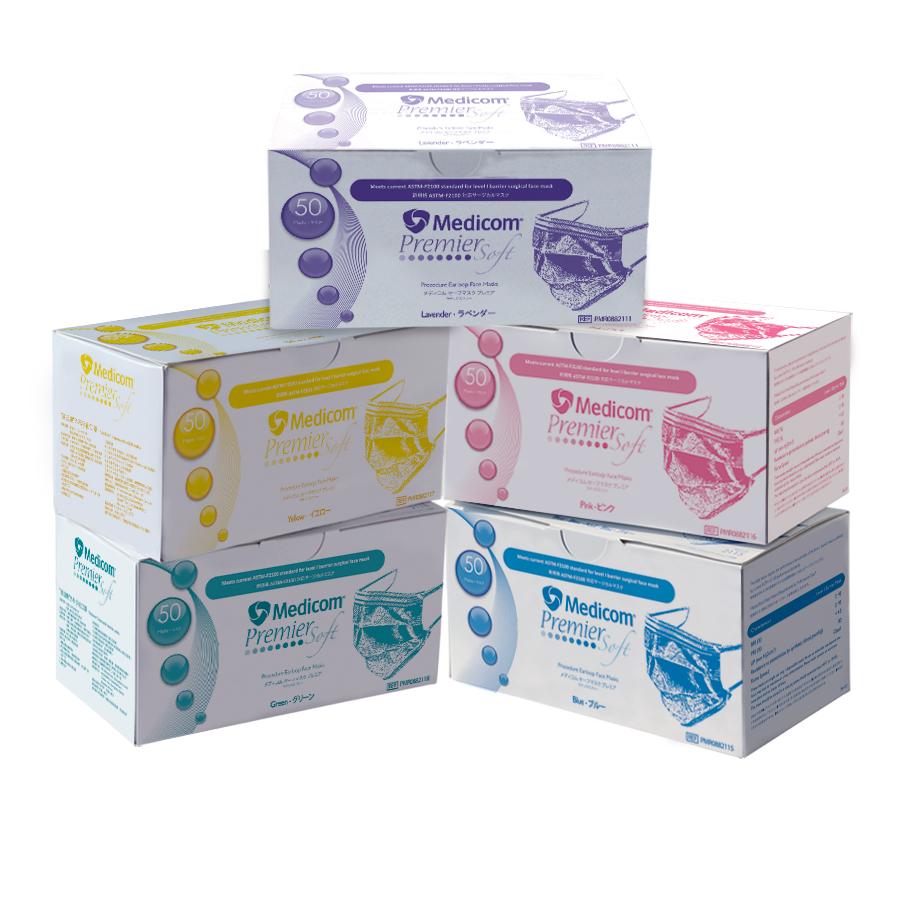 SafeMask® Premier Soft 三層外科手術口罩 Image
